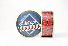 Cellophane Adhesive Tape w/ Baseball Stitch Design for Home Decor & DIY Projects