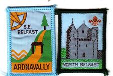 Boy Scout Badges S.E. BELFAST ARDNAVALLY + NORTH BELFAST Nthn IRELAND