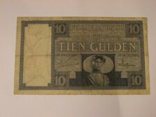 TIEN GULDEN 10 GULDEN 20.03.1929 NEDERLANDSCHE BANK Banknote Niederlande