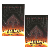 Two Decks of Bicycle Stargazer Sunspot Deck Playing Cards - USPCC