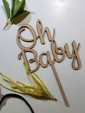 Oh Baby  cake topper decor