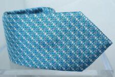 Cravatte e papillon da uomo blu Salvatore Ferragamo, 100% Seta