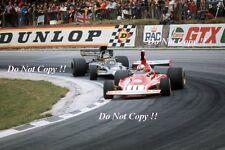 Clay Regazzoni Ferrari 312 B3 British Grand Prix 1974 Photograph 4