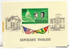 Togo bloc OLYMPIO AUX USA  KENNEDY 1962  Yt 8 NEUF ** BD89