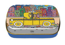 "James RIZZI: Minidöschen, Art Box, Dose ""IF YOU TAKE A TAXI"", neu & 1. Wahl"
