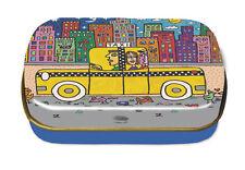 "James RIZZI: Minidöschen, Art Box, Dose ""IF YOU TAKE A TAXI"", neu & 1. Wahl"