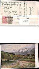307197,Künstler AK Hugo Darnaut Reichenau Raxalpe Bergkulisse