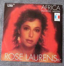 Rose Laurens, Africa (voodoo master) / broken heart, SP - 45 tours  import