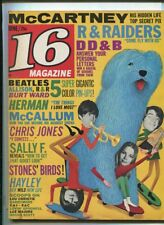 16 Magazine June 1966 Vol.8 #1 VG Dave Clark 5 Lovin Spoonful Hayley Mills MBX92