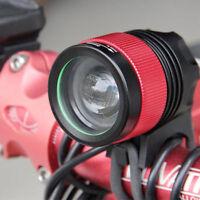 CREE XM-L XML T6 MTB Front Bicycle Bike Head Light w/ Headband & Bike Mount