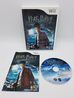 Harry Potter and the Half-Blood Prince (Nintendo Wii, 2009) Complete CIB Tested