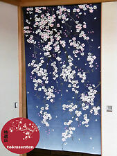 NOREN JAPANESE KAWAII JAPONAIS RIDEAU MADE IN JAPAN WAFU STYLE SAKURA FLOWER