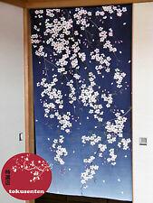 NOREN JAPANESE KAWAII JAPONAIS RIDEAU MADE IN JAPAN WAFU STYLE SAKURA FLOWER