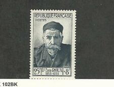 France, Postage Stamp, #B289 Mint LH, 1954 Roux
