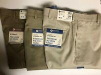 Haggar Men's Khakis Pants Straight Fit  $30 OFF Size 32, 34, 36, 38, 40, 42
