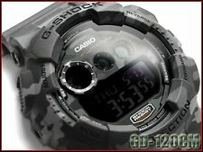 CASIO G-Shock GD120CM-8 GD-120CM-8 Military Camouflage Grey Limited !