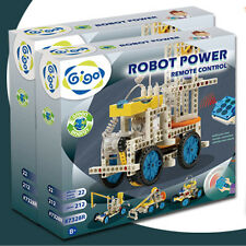 GIGO Solar Enegry Block Toy ROBOT POWER 7328R 212p Educational Teaching Aid Lego
