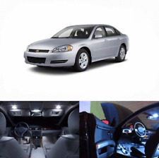LED White Lights Interior Package Kit For Chevy Impala 2005-2013 10 pcs
