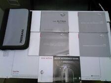 2005 Nissan Altima Owner's Manual Set w-Case. OEM.