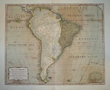 SOUTH AMERICA WITH ITS SEVERAL DIVISIONS BY THOMAS KITCHIN, 1794.