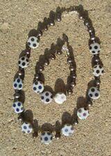Bead Necklace And Bracelet Set Swarovski Crystal, Pearl, And Lampwork