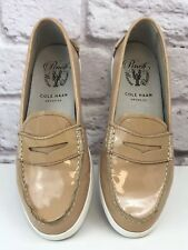 575eda7506d Cole Haan Women s Pink Maple Sugar Pinch Patent Leather Loafers Size 6.5