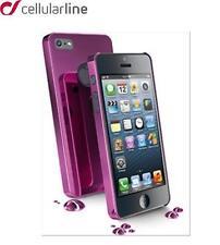 CUSTODIA COVER PER IPHONE 5/5S CHRMIPHONE5P VIOLA CELLULAR LINE Case cover