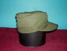 Korea / Vietnam Era Og Field Cap Cotton Poplin (Ranger Cap)