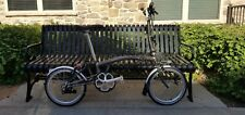 Brompton M6L Raw Lacquer w/ lights and pump