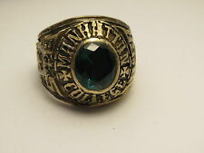 G113, RING , THE UNITED STATES , 1968 MANHATTAN COLLEGE ,school ring ,size 11.75