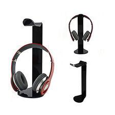 Acrylic Headphone Stand Headset Holder Desk Earphone Hanger Display Rack Bracket