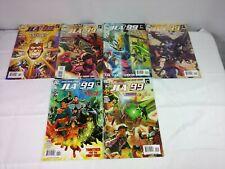 JLA THE 99 #1-6 DC COMICS 2010 Full Run JUSTICE LEAGUE OF AMERICA Comic Book Lot