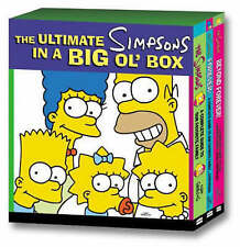 NEW The Ultimate Simpsons  in a Big Ol' Box Book  A Complete Guide seasons 1-12.