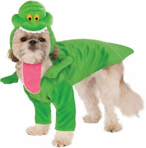 Slimer Dog Costume - SMALL - Frontal w/ Arms, Headpiece - Ghostbusters - NWT