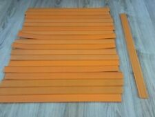 Lot Of 19 Vintage Orange Straight Hot Wheels Tracks 24 Inches