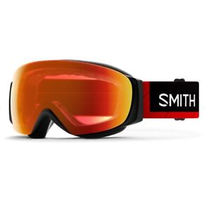 2020 Smith I/O MAG S X TNF Red Goggle w/ CP Everyday Red Mirror + CP Storm Rose