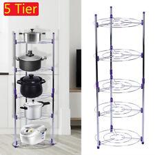 Home Kitchen Cookware Organizer Pan Pot Cabinet Rack Storage Case Holder 5Layer