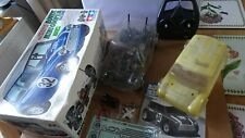 TAMIYA MINI M03 CHASSIS VINTAGE RC CAR  1/10 SCALE GOOD CONDITION