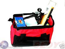 "27L 16"" Heavy Duty Foldable Tool Bag Travel Bag Steel Frame Hard Base ExtraSpace"