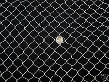 "75' x 8' Sport Net Golf Hockey Barrier Backstop Nylon Netting  3/4""  Mesh  #7"