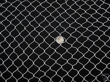 "50' x 9' SportS Net Golf Cage Netting Hockey Barrier Backstop Nets 3/4"" #7"