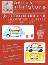 Argus de la Miniature, Spécial Citroën TUB et H