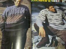 Pingouin Men Knitting Book #148 With 30 Styles- All Shown