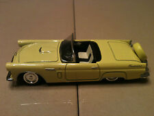 """2004 NEW RAY 1956 FORD THUNDERBIRD DIE CAST 4.25"""" L 1:43"""