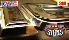 DOMED & non-domed GMC ACADIA individual emblem overlays 3M™ Denali grill OR rear