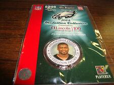 Philadelphia Eagles Medallion---Sheldon Brown---Factory Sealed Pack---2005