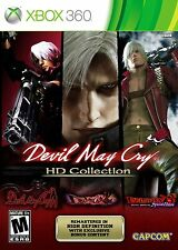HD Devil May Cry Collection DMC 1, 2, 3 HD  Special Edition New Xbox 360 Dante's