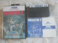 Predator 2 / VGC / CIB / Sega Master System / SMS