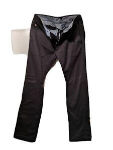 Diesel Co mens black cotton trousers regular fit size 31
