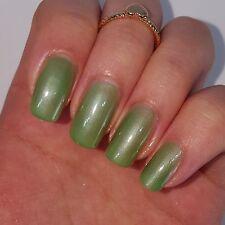 SOFT GREEN Shiny Nail Polish 15ml indie 5-free handmade vegan cruelty-free